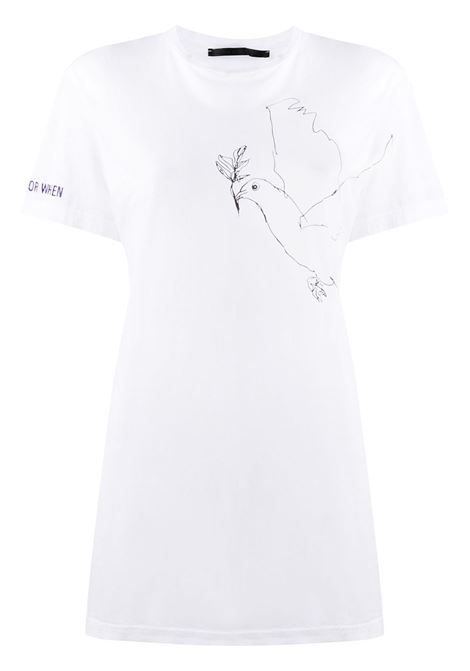 Bird print T-shirt HAIDER ACKERMANN | T-shirt | 2042402224003