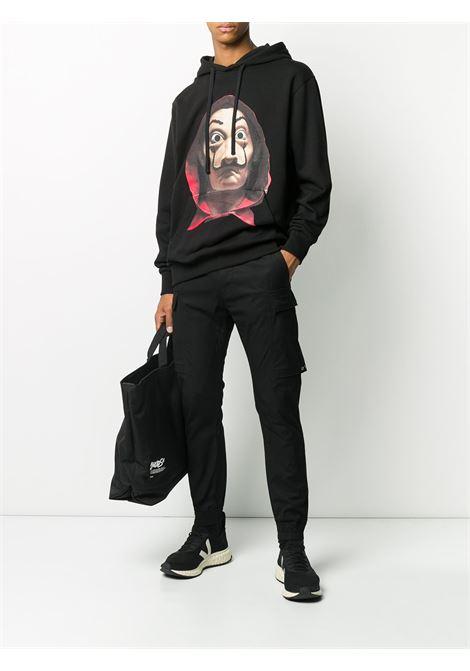 Long-sleeved photographic print hoodie IH NOM UH NIT | NUW20279009