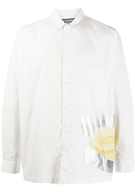Camicia con stampa JACQUEMUS | Camicie | 206SH02206146113