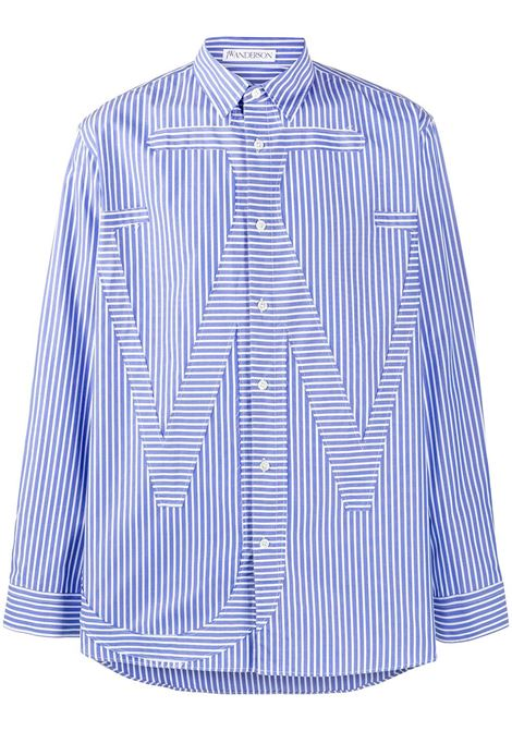 Shirt with shaped lines JW ANDERSON | Shirts | SH0045PG0293850