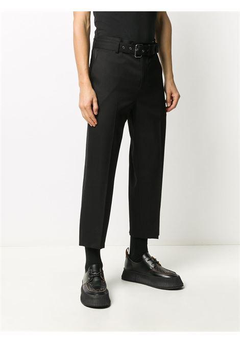 Pantaloni crop con cintura Uomo JW ANDERSON | TR0089PG0011999