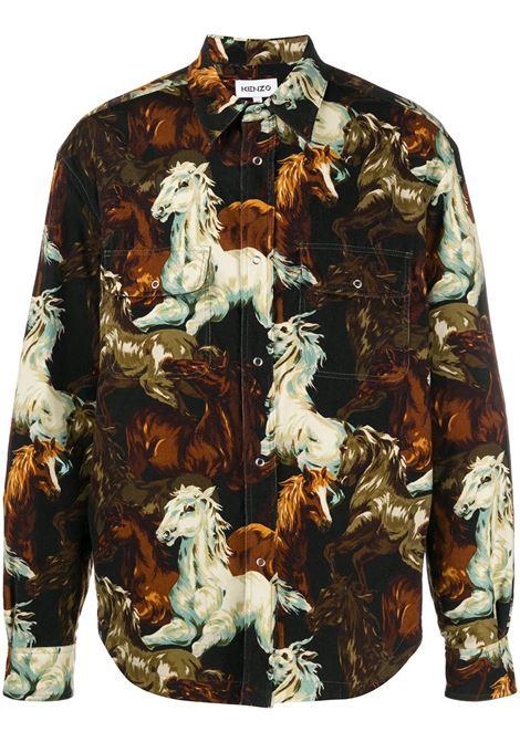 KENZO KENZO | Shirts | FA65CH5059PF99