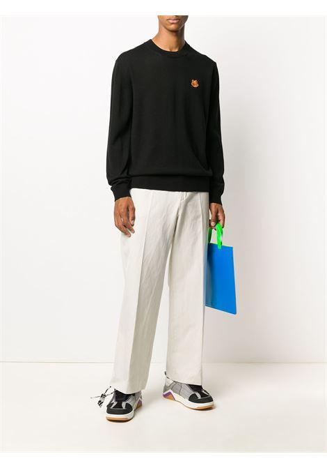 Tiger-patch wool jumper KENZO | FA65PU5373TA99