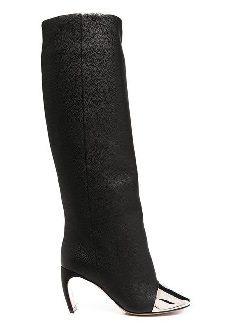 J sculpted heel boots LANVIN | Boots | FWBOAF14MOZAA2010