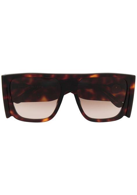 Linda farrow x magda butrym square frame sunglasses women brown LINDA FARROW X MAGDA BUTRYM | MAGDA1C5SUNBRWN