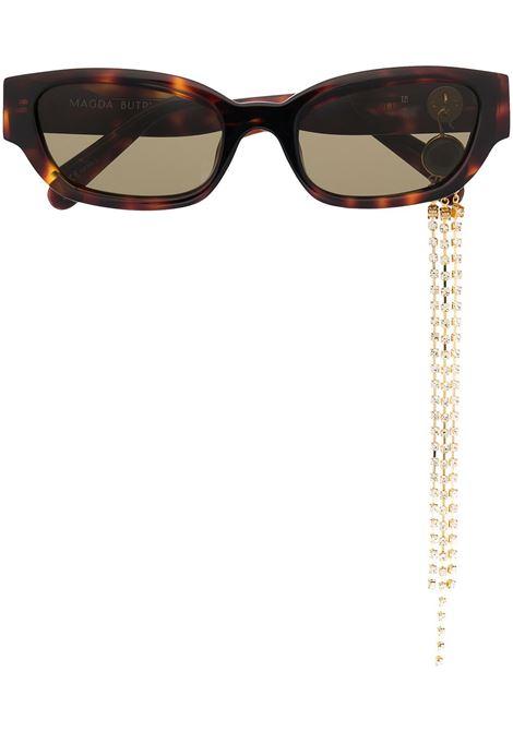 LINDA FARROW X MAGDA BUTRYM LINDA FARROW X MAGDA BUTRYM | Glasses | MAGDA4C5SUNBRWN