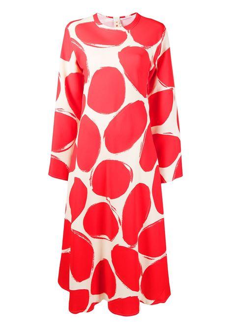 Abstract-print dress MARNI | Dresses | ABMA0533A0TV758PER63
