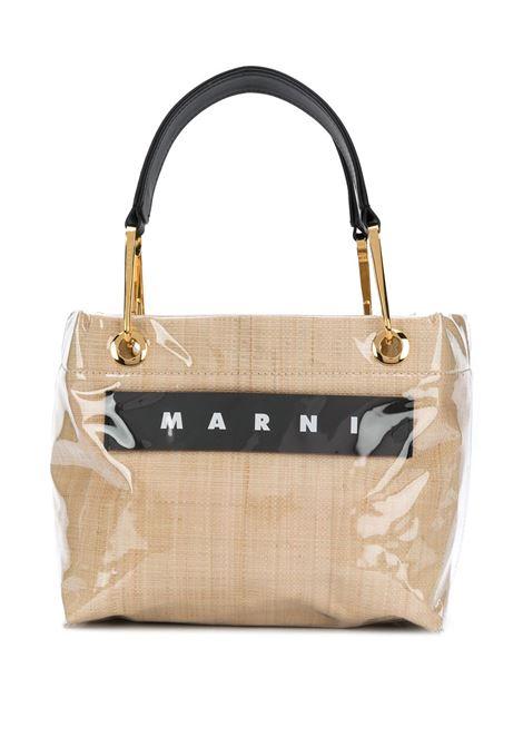 Handbag with logo MARNI | Hand bags | BMMP0013Q1P362000W16