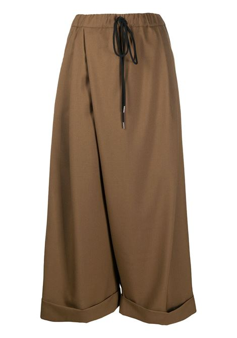 Wide leg trousers MARNI | Trousers | PAMA0119A0TW83900M29