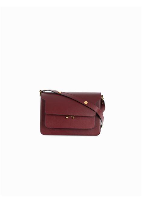 Trunk medium leather bag MARNI | Shoulder bags | SBMPN09NO1LV520ZR82N