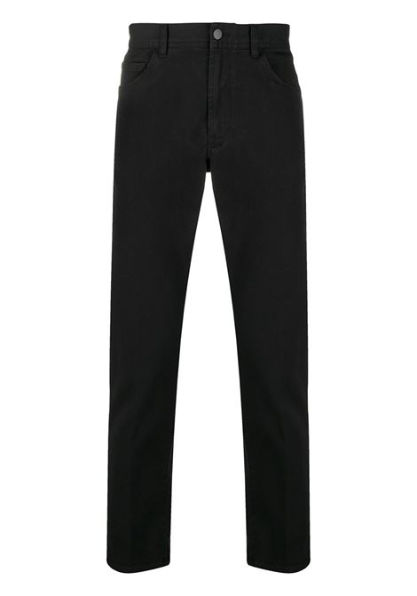 Logo patch straight-leg trousers MONCLER 1952 | Trousers | 2A7186054AT7999