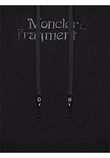 Felpa fragment con cappuccio Uomo MONCLER FRAGMENT | 8G70910809F4999