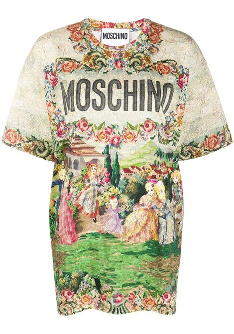 MOSCHINO MOSCHINO   T-shirt   A070854401888