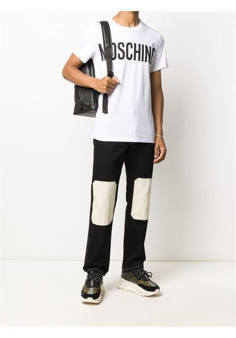 T-shirt con logo Uomo MOSCHINO | J070570401001