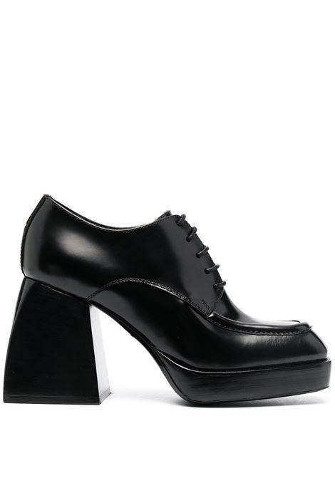 Evie lace-up pumps NODALETO | Pumps | NO4201BLKGLSSD