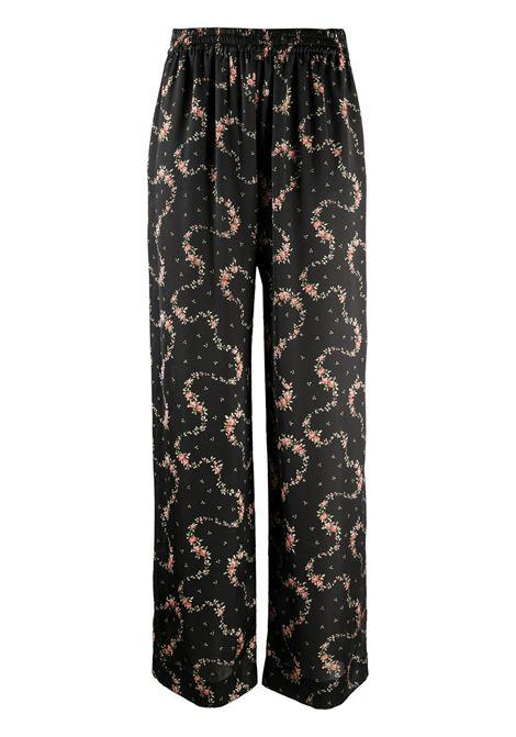Pantaloni a fiori PACO RABANNE | Pantaloni | 20HCPA019P00208V060
