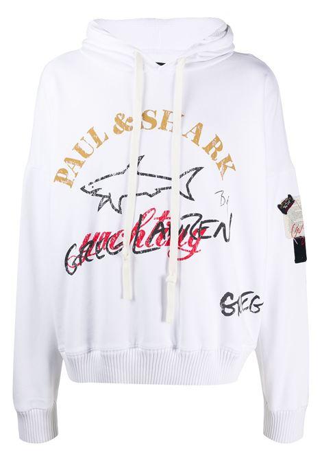 Logo-print hooded sweatshirt PAUL & SHARK X GREG LAUREN | Sweatshirts | A20P1506010