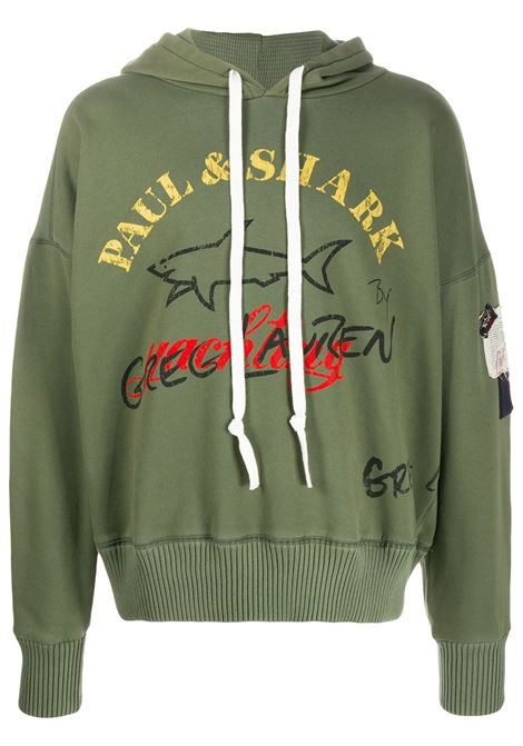 Logo-print sweatshirt PAUL & SHARK X GREG LAUREN | Sweatshirts | A20P1506957