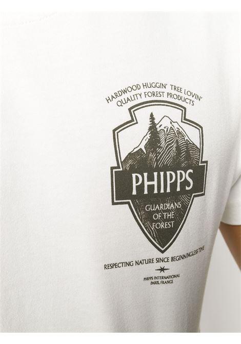 Logo patch organic cotton T-shirt PHIPPS | PHFW20N01AWHT