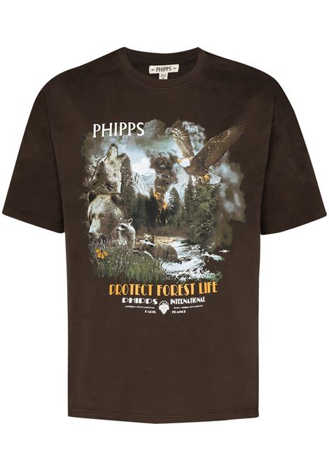 PHIPPS PHIPPS | T-shirt | PHFW20N20BLKBR