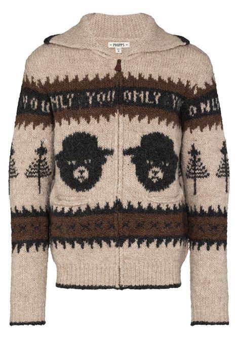 PHIPPS PHIPPS | Sweaters | PHFW20X03SMKYBRWN