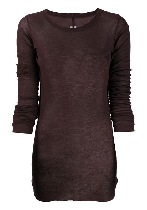 Long sleeved Top RICK OWENS | T-shirt | RP20F2202MR44