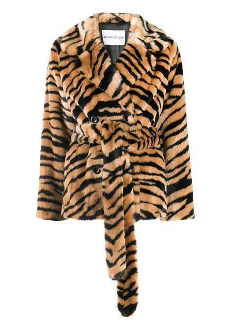 Tiger print coat STAND STUDIO | Outerwear | 61173902010300
