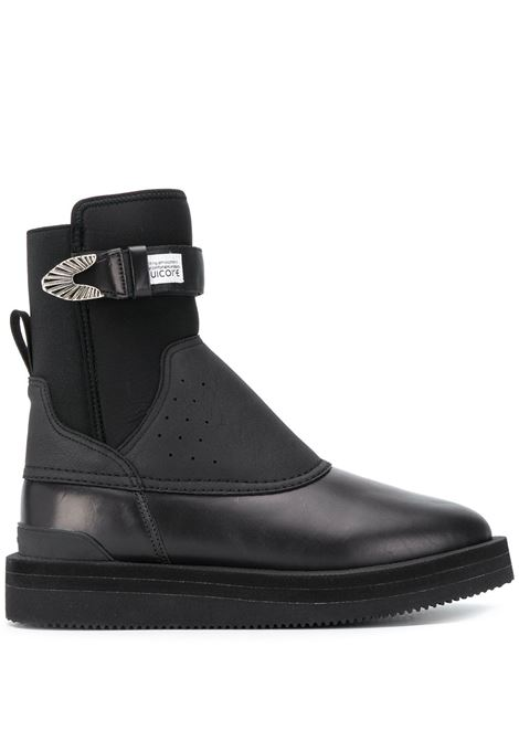 Perforated panel ankle boots SUICOKE | Ankle-Boots | OG255BLK