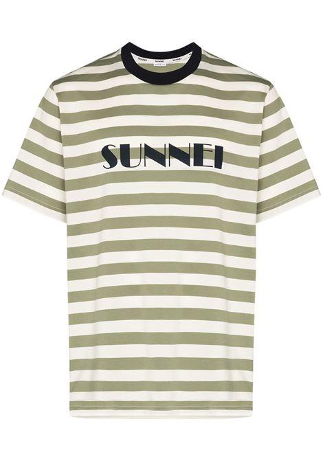 SUNNEI SUNNEI | T-shirt | MH01CCJR001R02OLVSTRPS