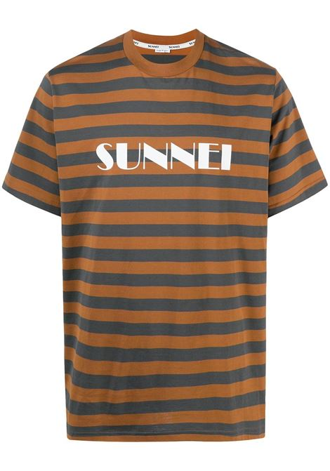 SUNNEI SUNNEI | T-shirt | MH01CCJR001R18BLCRMLSTRPS