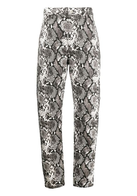 Python effect trousers THE ATTICO | Trousers | 202WCP11EL001084