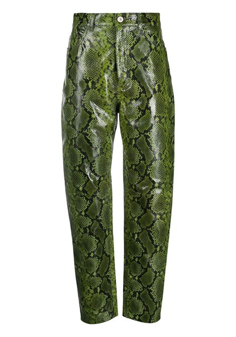 Snakeskin print trousers THE ATTICO | Trousers | 202WCP11EL005123