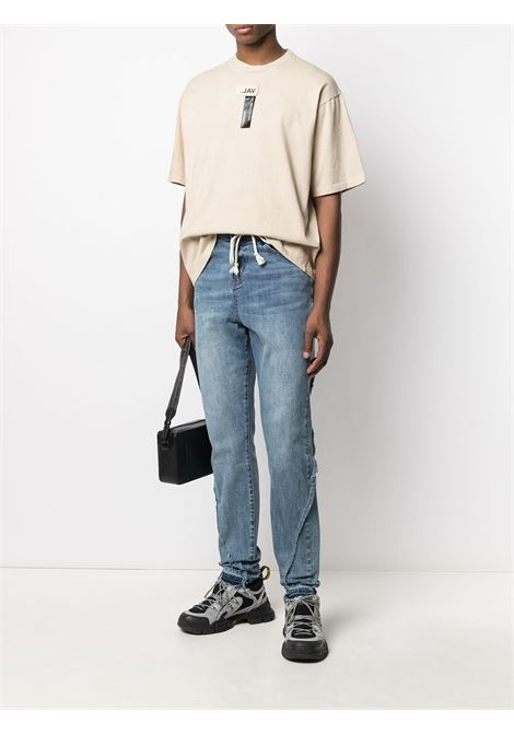reconstructed drawstring trousers VAL.KRISTOPHER | 20201092BL