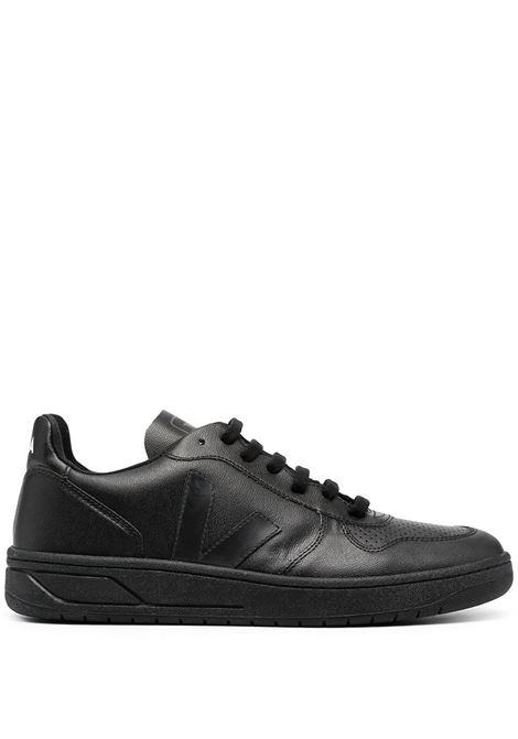 Sneakers con applicazione VEJA | Sneakers | VX071926ABLK