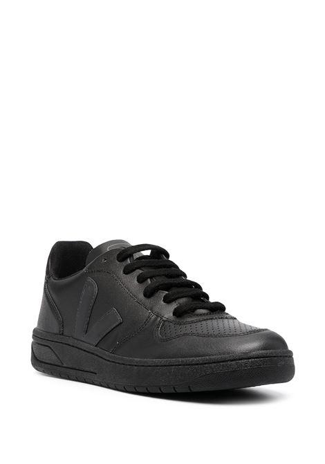 Logo-patch low-top sneakers VEJA | VX071926ABLK
