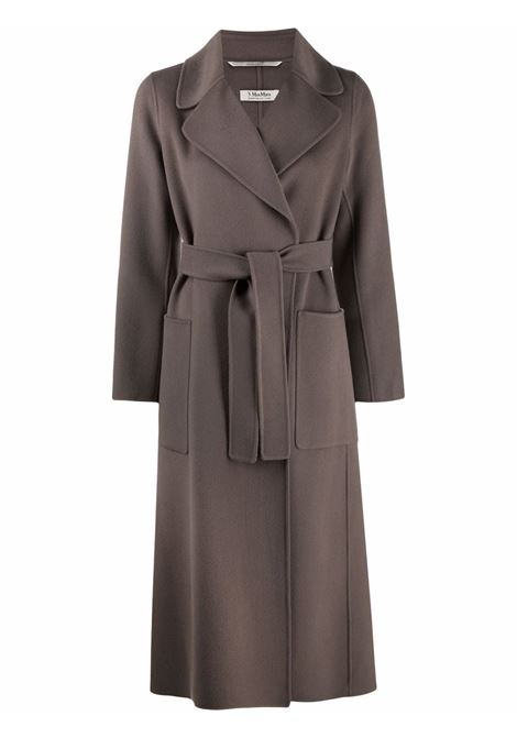 Cappotto paolore con cintura in grigio - donna 'S MAXMARA | 90160819600069