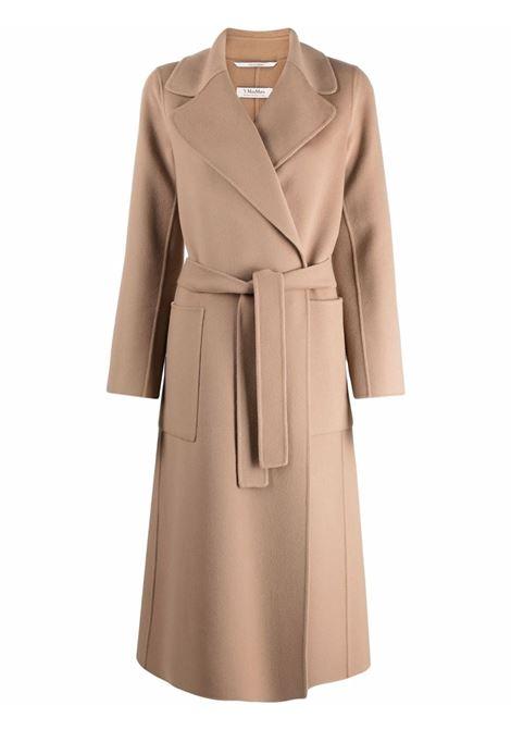 Cappotto paolore con cintura in beige - donna 'S MAXMARA | 90160819600094