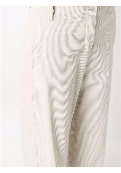 Pantaloni a coste vicky in bianco avorio - donna 'S MAXMARA   91361113600009