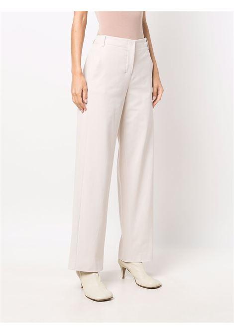 Pantaloni a gamba dritta unico in bianco avorio - donna 'S MAXMARA   91361213600003