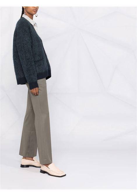 Cardigan con bottoni in blu - donna ACNE STUDIOS | A60183CQ0
