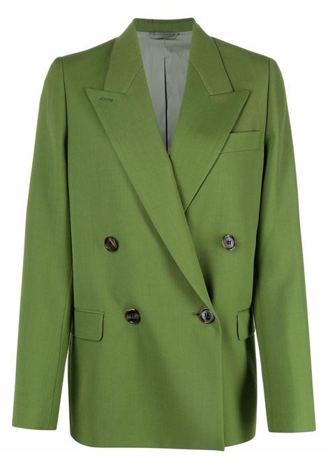 Double-breasted suit blazer green - women ACNE STUDIOS | AH0157BCA