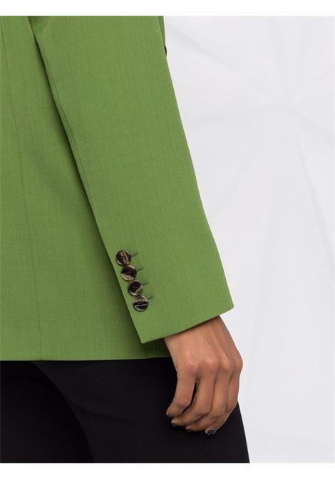 Giacca doppiopetto in verde - donna ACNE STUDIOS | AH0157BCA