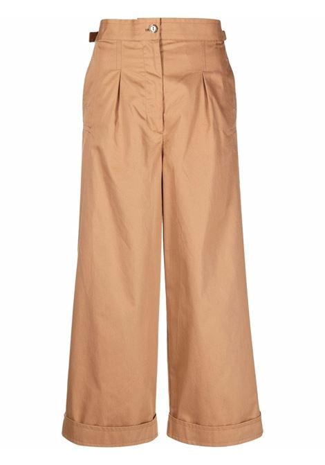 Pantaloni a gamba ampia crop - donna ACNE STUDIOS | AK0420640