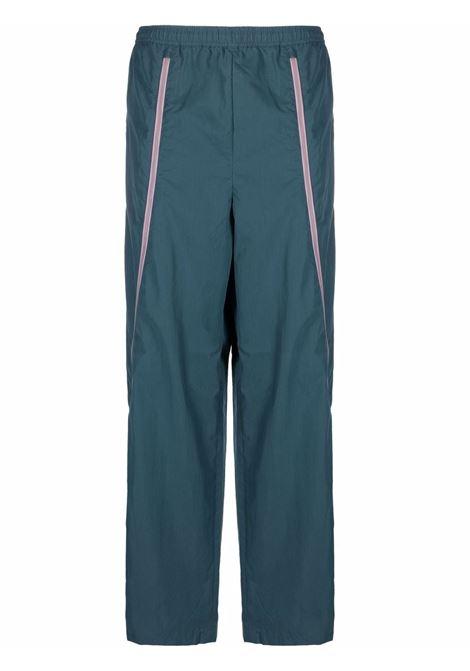Zip-trim track trousers in blue - men  ACNE STUDIOS | BK0399AUZ