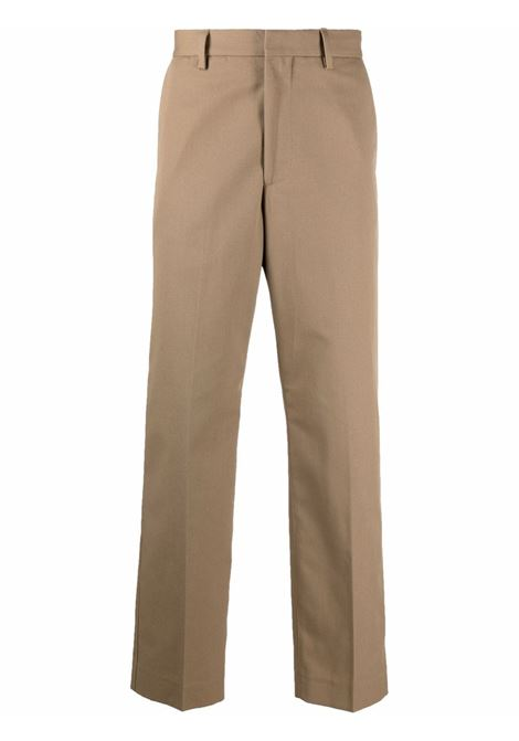 Tailored-cut straight-leg trousers in beige - men  ACNE STUDIOS | BK0423AE0