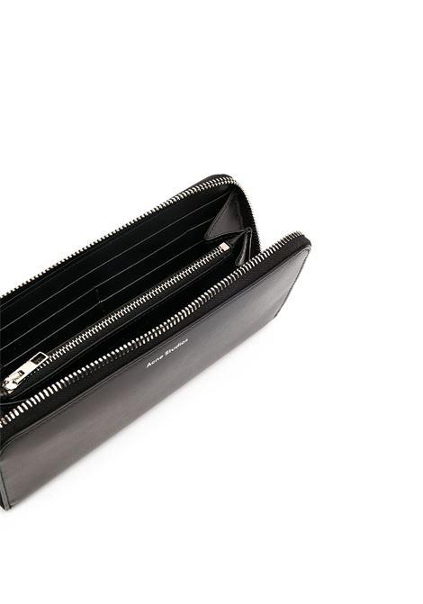 Portafoglio contonental in nero - donna ACNE STUDIOS | CG0093900