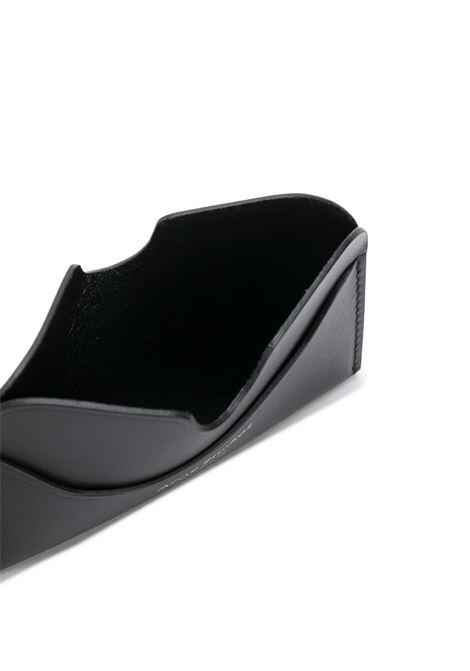 Portacarte elmas in nero - donna ACNE STUDIOS | CG0107900