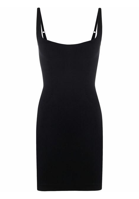Sleveless fitted short dress in black - women   ADAMO | ADFW21DR080304730473004