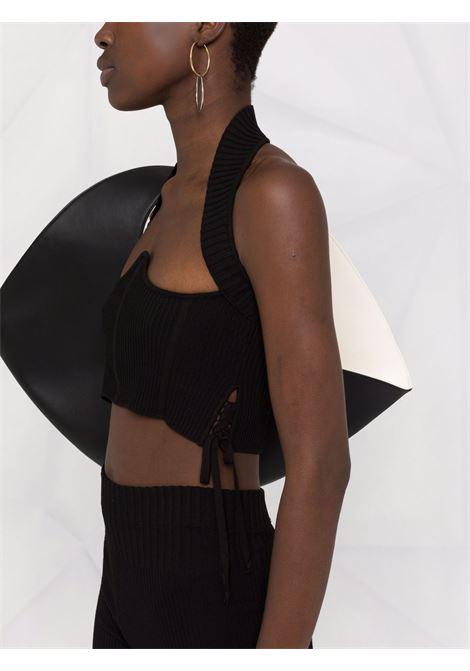 Harness vest top in black - women  ADAMO | ADFW21TO080314730473004