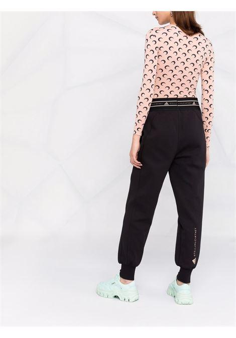 Pantaloni sportivi con stampa in nero - donna ADIDAS BY STELLA MC CARTNEY   GU4338BLK